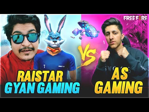 Raistar & Gyan Gaming Vs As Gaming Best Clash Squad Battle 😍 In Free Fire Garena Free Fire