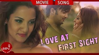 Romantic Nepali Song From Nepali Movie Kollywood | Love at First Sight |