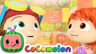 Five Senses Song | Nursery Rhymes & Kids Songs - ABCkidTV