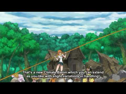 One piece-nami and zoro last moments on zou!