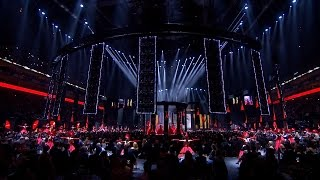The Opening Sequence l The BRIT Awards 2016