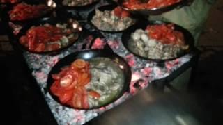 Chicken karahi on koyla