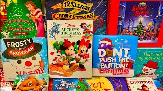 Christmas 🎄 The BEST Books For Kids Children Toddlers Kindergarten Learning Colors Reading Is Fun