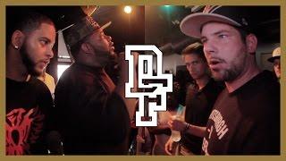 YOUNG KANNON & BIG KANNON VS REAL DEAL & FRESCO | Don't Flop Rap Battle
