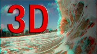 Anaglyph 3D & HD VIDEO TEST. Glasses needed