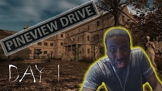 Pineview Drive Gameplay Walkthrough DAY 1 ( HORROR GAME )