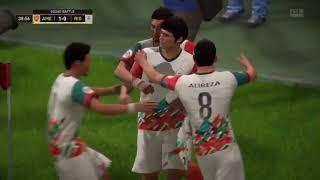 IRAN vs Rio Ferdinand FIFA18 تیم ملی در مقابل یاران فردیناند در اسکواد بتلز
