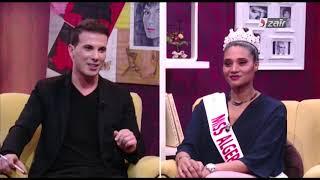 ملكة جمال الجزائر خديجة بن حمو ترد على الإعلامية أنيا الأفندي ؟ أنا لست ضحية ؟