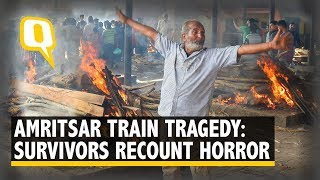 Only Got My Sister's Arms: Amritsar Tragedy Victims Recount Horror | The Quint