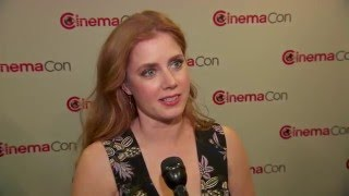 Amy Adams CinemaCon Interview - Story of Your Life