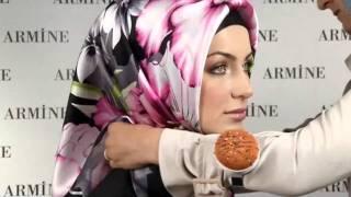 Hijab Fashion: Armine Eşarp Bağlama Modelleri # 8