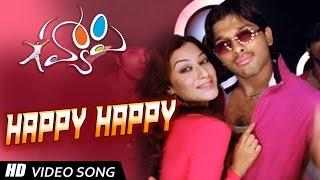 Happay Title song || Happy Telugu Video Songs|| Allu Arjun, Genelia