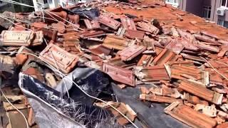 Cukulat- istanbul dolu- freezing rain damage