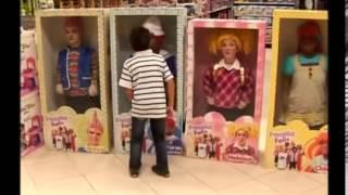 funny brazilian living dolls prank
