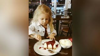Dad Takes 3 Year Old Daughter Out On Monthly 'Dates' To Show Her How She Should Be Treated