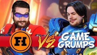 FUNHAUS VS GAME GRUMPS: VENGEANCE - Overwatch Gameplay