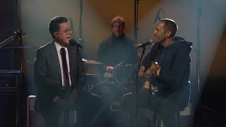 "Jack Johnson And Stephen Colbert Perform ""I Love You And Buddha Too"""