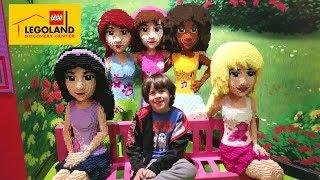 LEGOLAND  TOUR! Astronaut Theme. Family Fun Lego Toys for Kids play Area Children Activities
