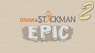 Zagrajmy w Draw A Stickam: EPIC odc.2 Wielkie Stopy