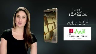 iBall Andi Weber 5.5H | Most Comfortable to Hold Smart Phone