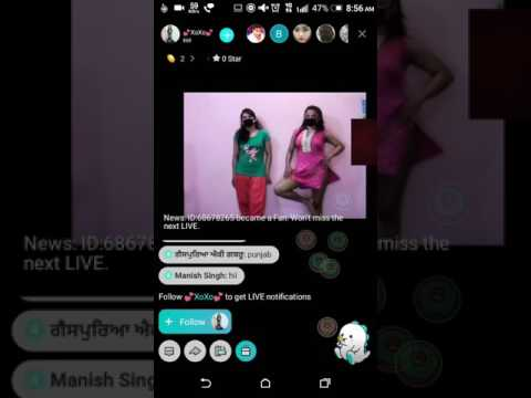 2 indian girls dance and shows penty on bigo live 😱