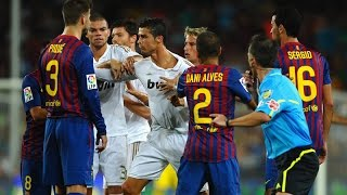 FC Barcelona Vs. Real Madrid • Best Fights