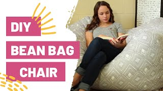 DIY BEAN BAG CHAIR | How To Sew
