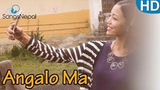 Angalo Ma - LITTLE Q~BIZ (A~Shif & Q~Real) | New Nepali R&B Pop Song 2017