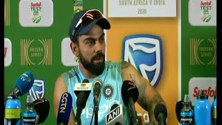 When Virat Kohli got angry on Journalist in PC after losing Centurian Test
