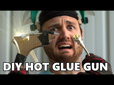 Testing Dangerous Life Hacks DIY Hot Glue Gun