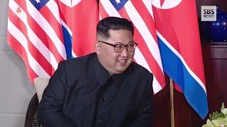 Nach erstem Treffen mit Trump: Kims Videotagebuch