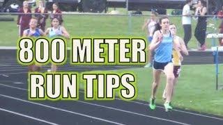 800 Meter Run Track Race Tips - The Half Mile Race
