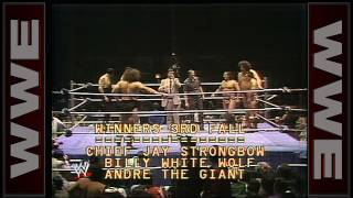 Andre the Giant, Billy Whitewolf, & Chief Jay Strongbow vs. The Executioners & Bruiser Brody: Best 3