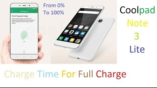 [Hindi] How Much time for Full Charge of Coolpad Note 3 Lite?