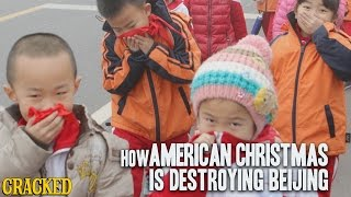 How American Christmas Is Destroying Beijing