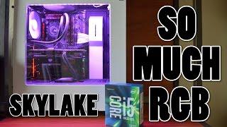 RGB LED Intel Skylake i5 6600K Build