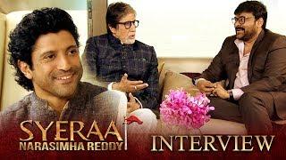 Sye Raa Interview - Chiranjeevi, Amitabh Bachchan | Farhan Akhtar | Oct 2nd Release