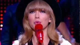 Taylor Swift We Are Never Ever Getting Back Together Live Super Bowl Halftime Show 2013 Grammys