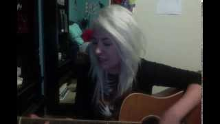 How Do I Tell A Girl I Want To Kiss Her - Modern Baseball - (Cover by Allysia)