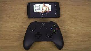 GTA San Andreas Google Nexus 5 Android 4.4 KitKat Xbox One Controller Gameplay