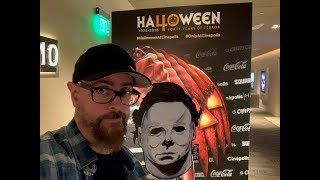 Celebrating The Halloween 40th Event At The New CInepolis Hamlin Movie Theater & Bonus #HHN28 Time