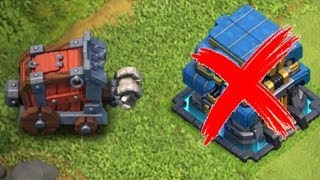 """WHAT IF THERE IS NO TOWN HALL!?! """"Clash Of Clans"""" SIEGE MACHINE LVL 3"""