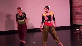 Soumyee and Shaily perfoming Momo Chitte
