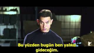 Dhoom 3 Silinen Sahne 3 -Türkçe Altyazılı- -Ziya Altıparmak- -Aamir Khan Türkiye-