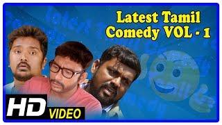 Latest Tamil Comedy 2018 | Latest Tamil Comedy Scenes | Vol 1 | Santhanam | Rajendran | RJ Balaji