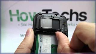 Nokia N97: Inserting the SIM Card