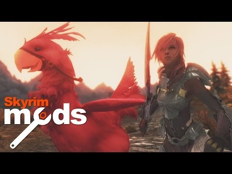 Lightning and Chocobos bring Final Fantasy to Skyrim Top 5 Skyrim Mods of the Week