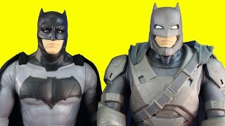 Huge Batman Toy Action Figure Collection With Bruce Wayne Bat Boat Giant Batman And Batmobile