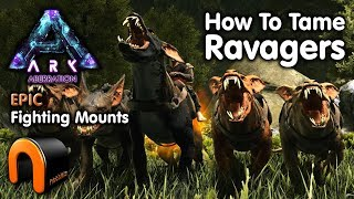 Ark -  HOW TO TAME RAVAGERS On Aberration