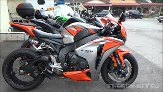 Honda CBR1000RR Toce exhaust